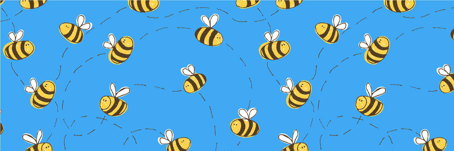 Bee Pattern Background Absolutely Delightful Interesting Bee Pattern